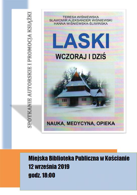 """Spotkanie autorskie i promocja książki Teresy Wiśniewskiej """"Laski wczoraj i dziś"""""""