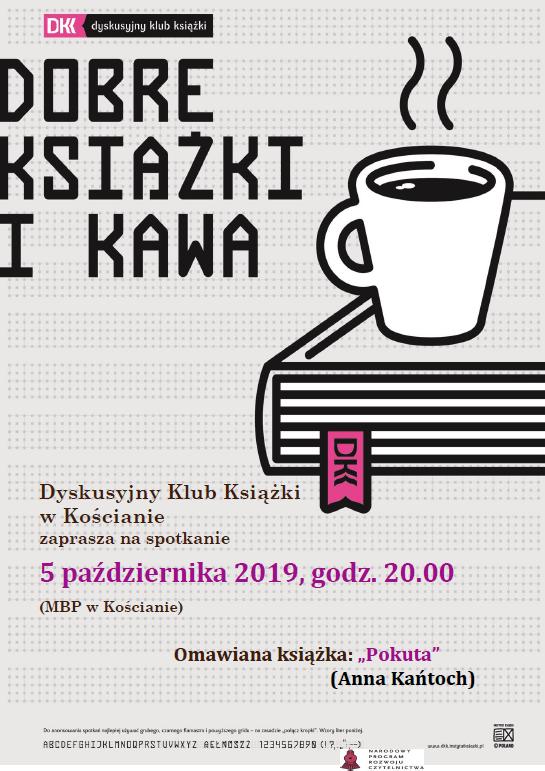 Październikowe spotkanie DKK 5 października 2019, godz. 20
