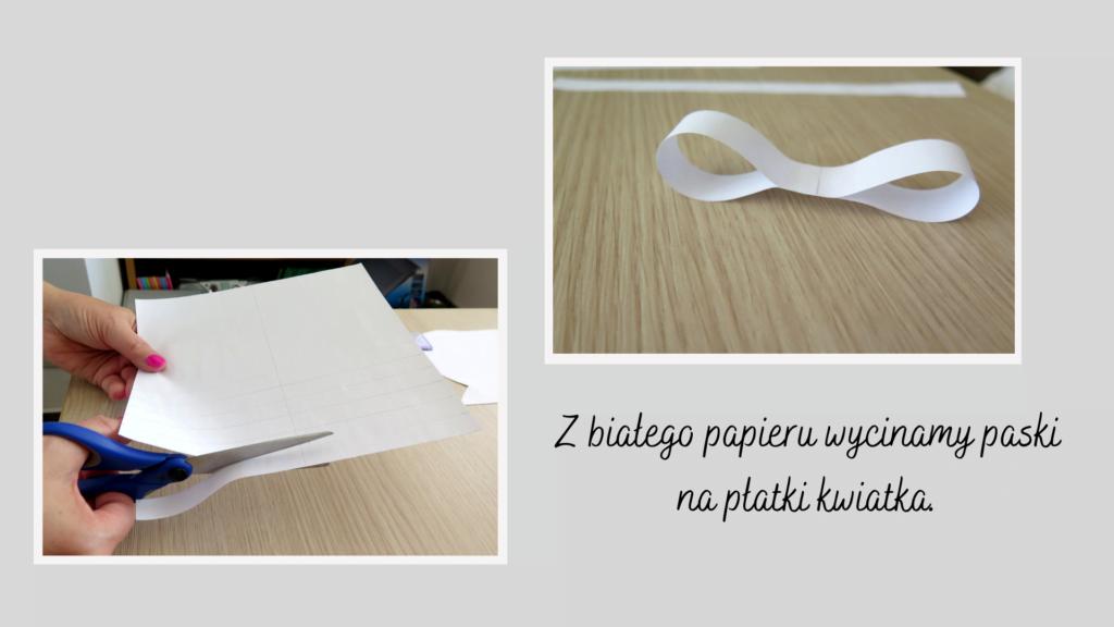Z papieru wycinamy paski