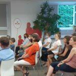 Uczestnicy spotkania z Wiesławem Kotem